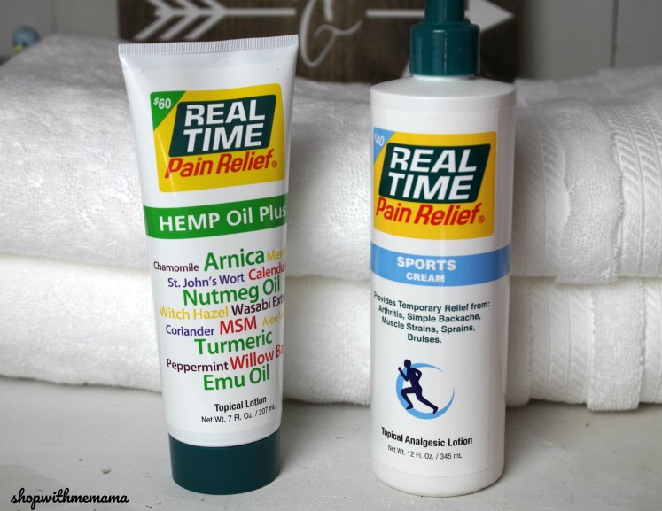 Natural Topical Pain Relief Creams