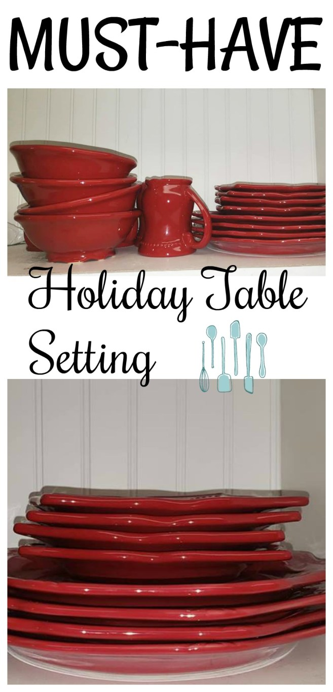 Must-Have Holiday Table Settings