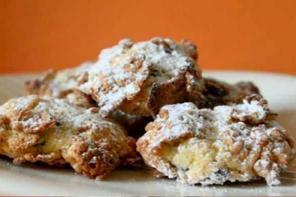 Italian Rose Del Deserto Holiday Cookie