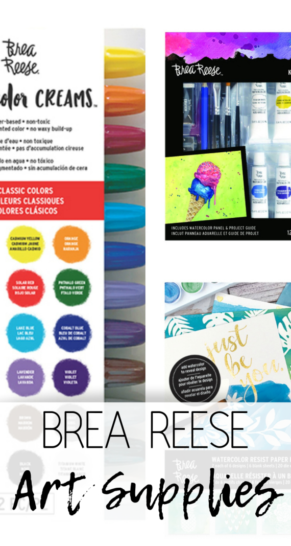 Brea Reese Art Supplies Giveaway