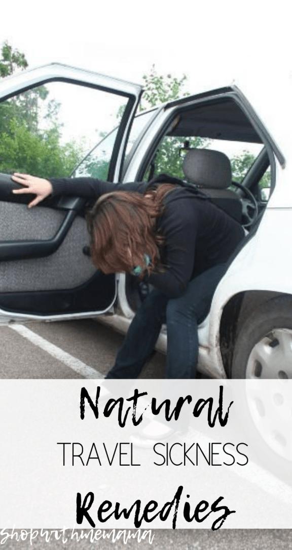 car sick remedies