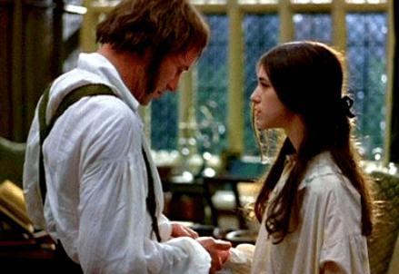 Jane Eyre e Mr Rochester che si incontrano