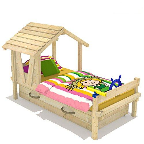 WICKEY Kinderbett Lady's House Prinzessin-Bett Spielbett inkl. Lattenboden 90x200cm