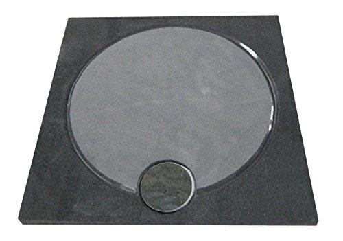 Design Duschwanne aus Naturstein, Duschtasse, Granit, 90*90cm, anthrazit, G654