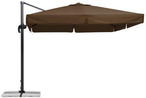 Schneider Sonnenschirm Rhodos, ca. 300 x 300 cm, 8-teilig, quadratisch