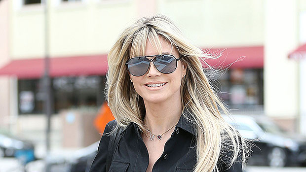 Heidi Klum, 46, Looks Like A Teenager While Sunbathing In Her Backyard — New Pic