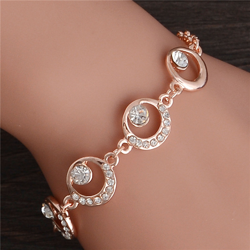 Women's Romantic Crystal Bracelet