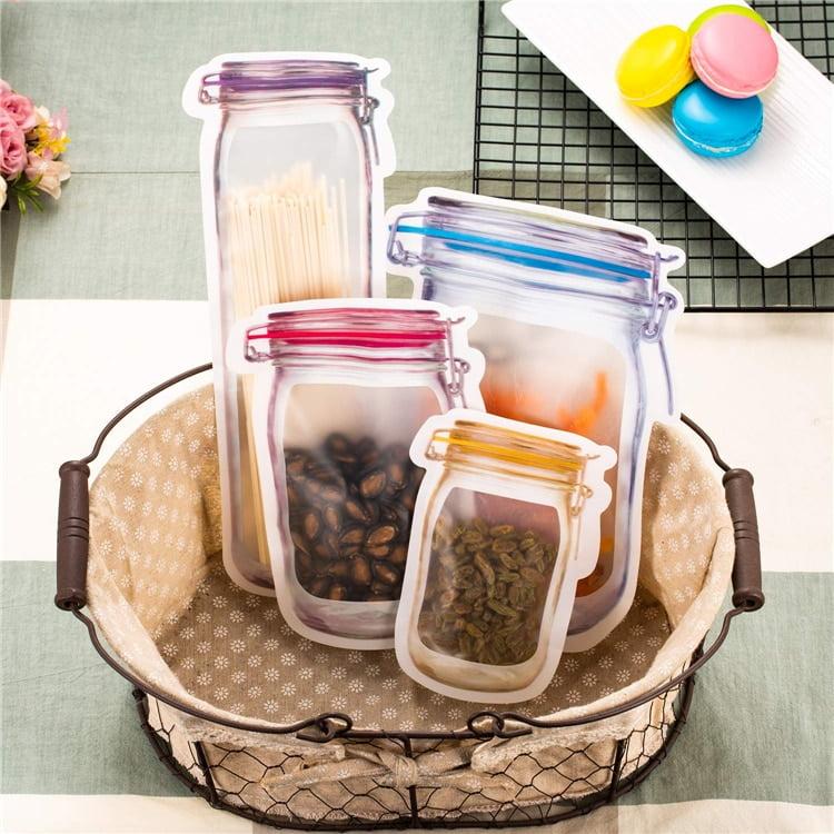 Portable Jar Storage Bag Set