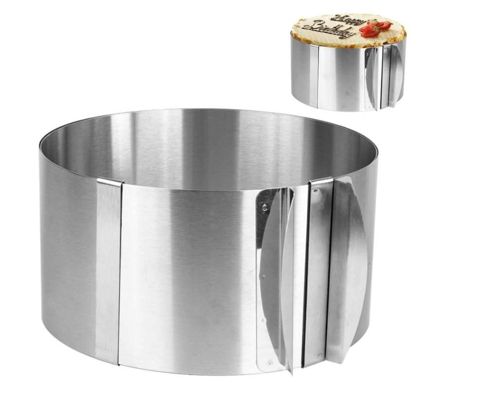 Stainless Steel Adjustable Baking Ring