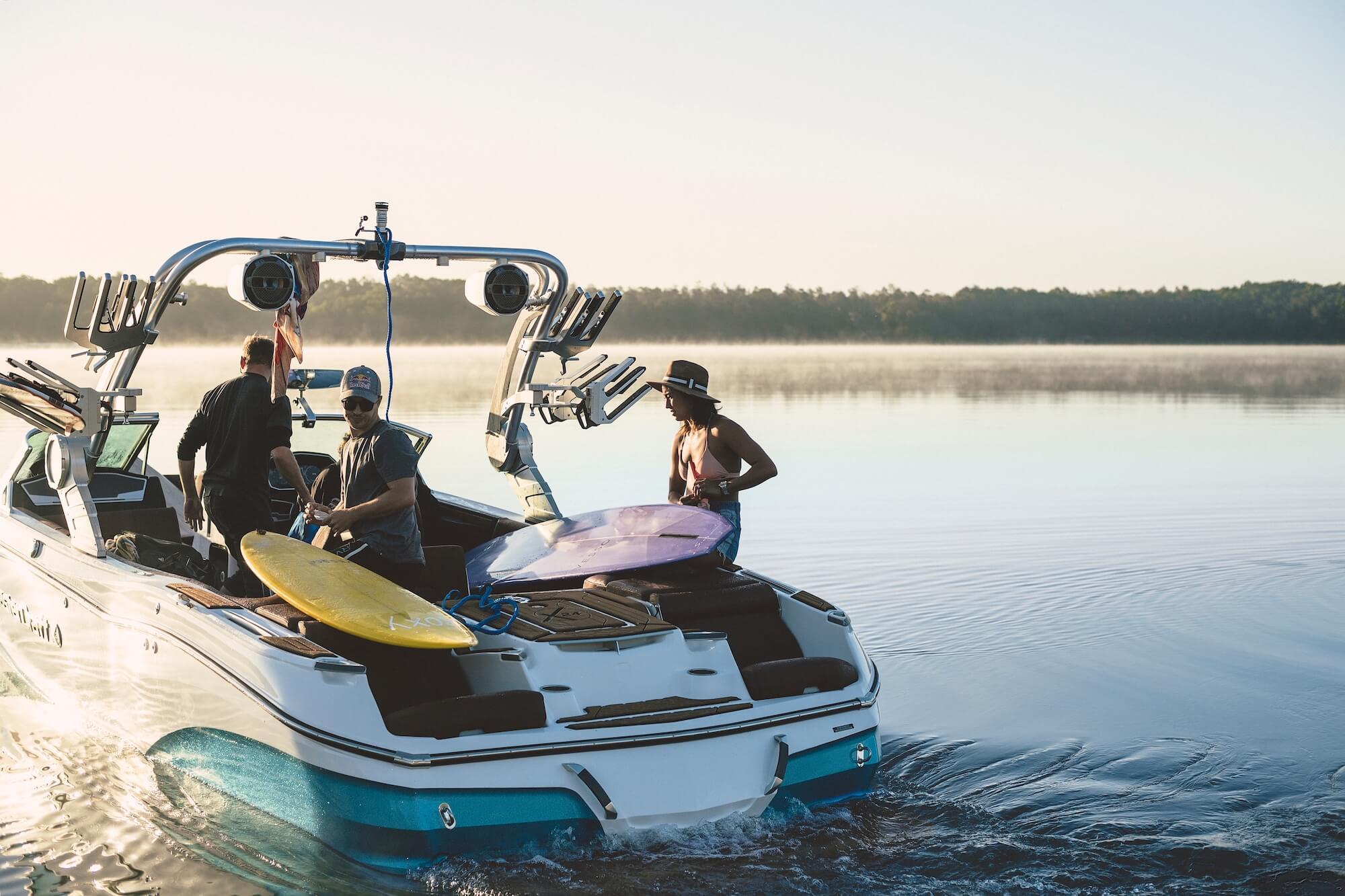 Boat Review Mastercraft X24 Shore Magazine Boating Lake Of The Ozarks
