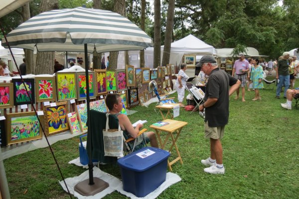 Rehoboth Art League' 39th Annual Outdoor Fine And