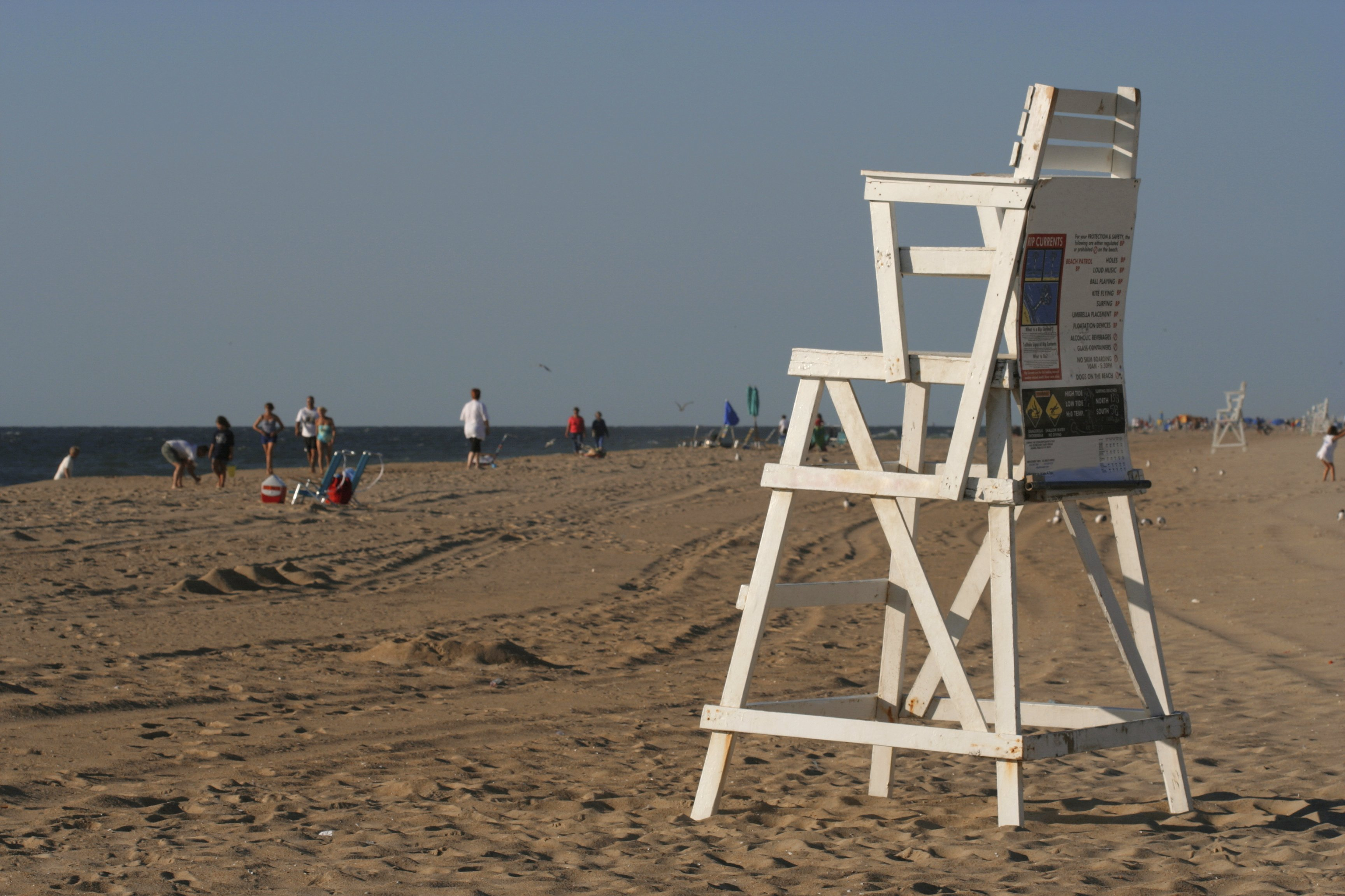 how to build a lifeguard chair office disassembly ocean city beach patrols crew competition marks 40 years