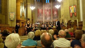 concert at chapel