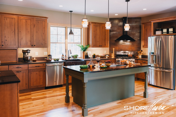 slate kitchen backsplash cabinet restoration a with wine in mind | shorehaven kitchens