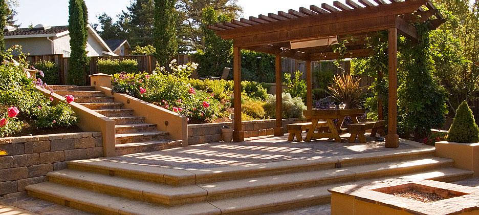 Santa Cruz Outdoor Living Landscape Design For Homes In