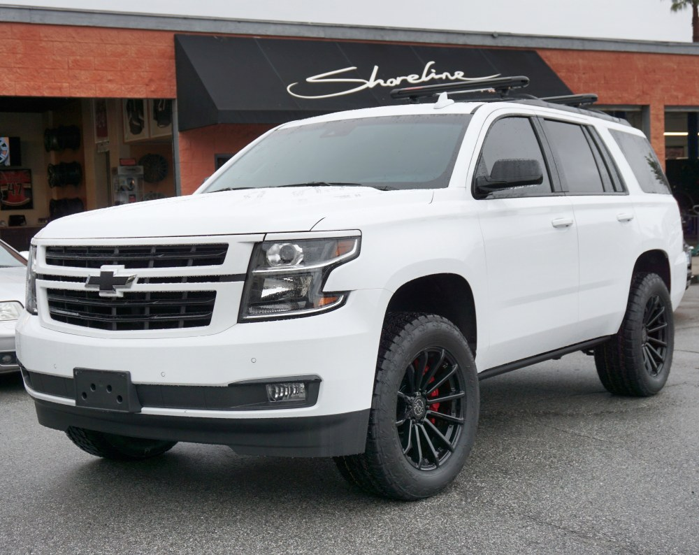 medium resolution of 19 tahoe ltz equipped with brembo big brakes leveling kit 33 nitto terra grapplers wrapped around 20 black rhino wheels a pedalbox performance upgrade