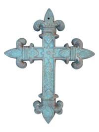 Cast Iron Cross Wall Decor