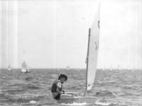 Laser sailing as art – Maria Vlachou