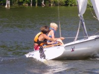 Youth sailing lessons at OOYC