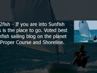 Shoreline Interview with My2fish – Our pick for top blog on Sunfish sailing
