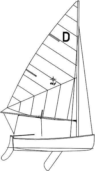 dyer_dink_drawing • Shoreline Sailboats