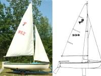 (Sold) MFG Pintail 14′ Sailboat $350