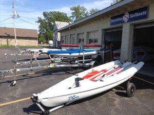 Shoreline boat shop
