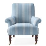 Avignon Chair in Lake Stripe $2298.00  | Serena and Lily