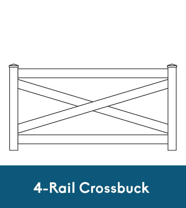 4-Rail Crossbuck