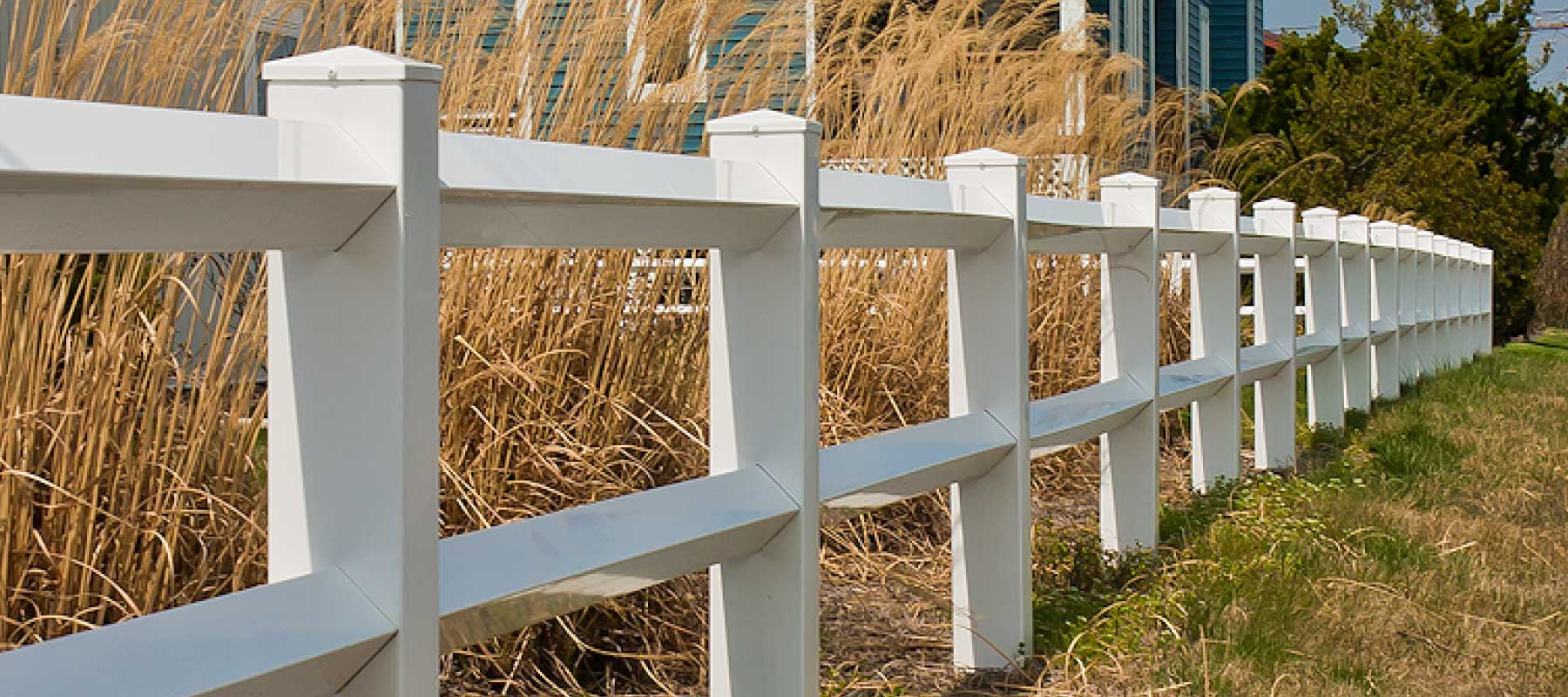 2 Rail Diamond Vinyl Fence Shoreline Vinyl Systems
