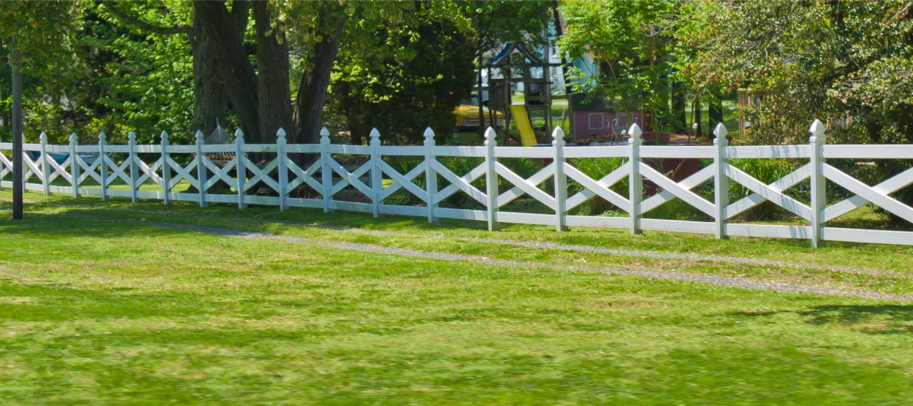 4 Rail Crossbuck Vinyl Fence Shoreline Vinyl Systems