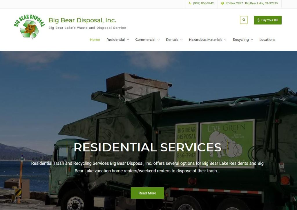 Big Bear Disposal