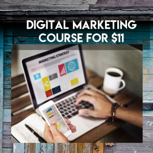 Digital Marketing Course for $11