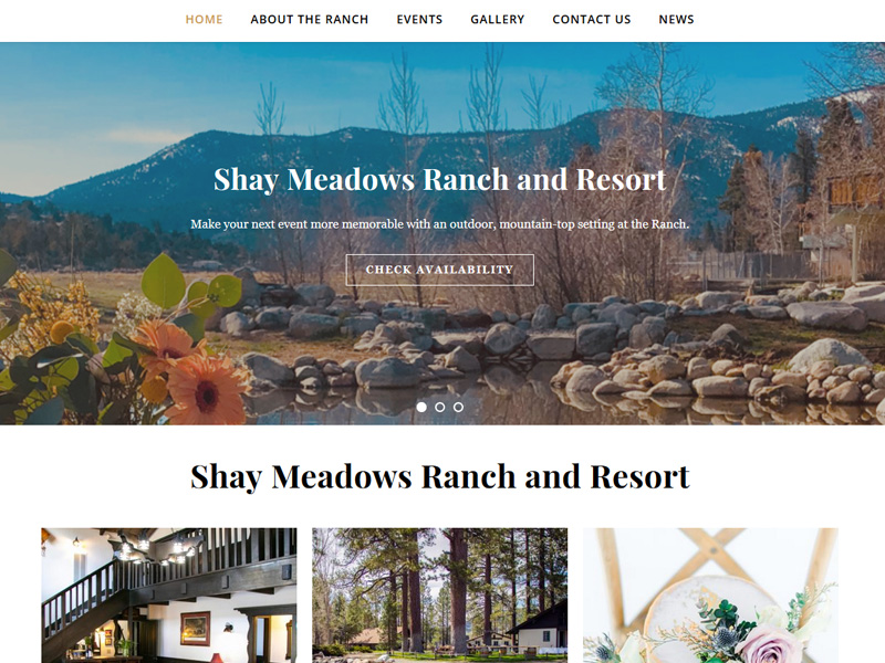 Shay Meadows Ranch and Resort