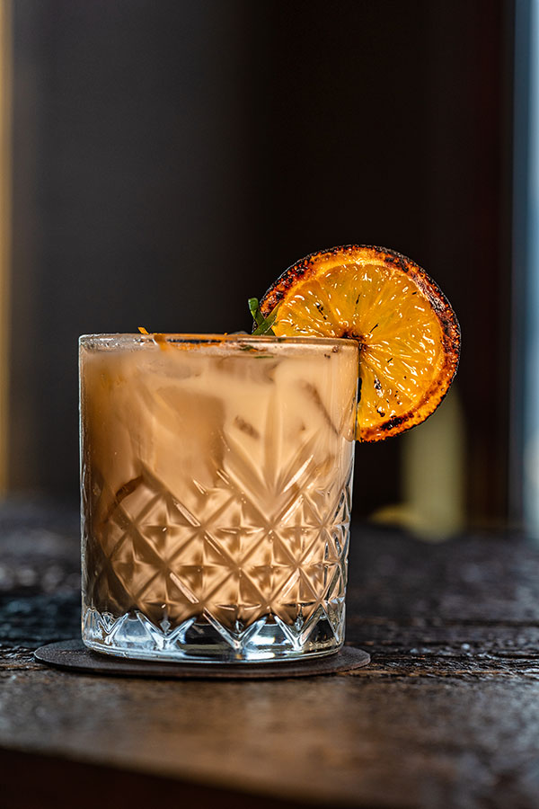 The XOXO cocktail at The Bar