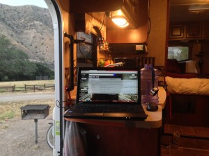 RV Work Station