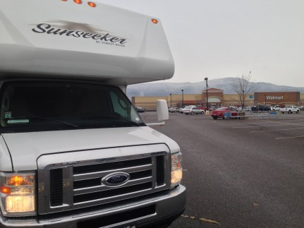 3 Boondocking at Walmart is a safe way to rest your tired head while traveling.