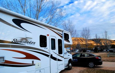 rv park review campsite