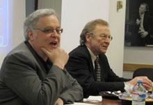 Neal Baer and Thomas E. Patterson.