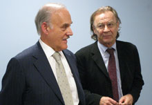 GlobalPost's Philip S. Balboni and Thomas E. Patterson.
