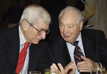 Marvin Kalb and Walter H. Shorenstein.