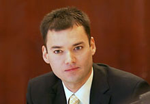 Peter Beinart at the 2005 Theodore H. White Lecture on Press and Politics.