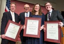 2013 Goldsmith Prize Winners