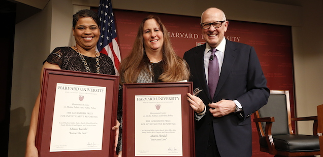 MIAMI HERALD WINS THE GOLDSMITH PRIZE FOR INVESTIGATIVE REPORTING