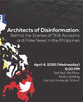 Architects of Disinformation: Behind the Scenes of Troll Accounts and Fake News in the Philippines