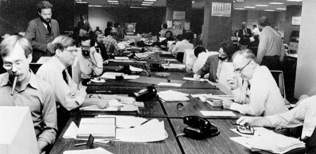 NYT Newsroom 1978