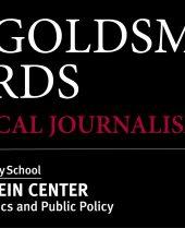 2020 Goldsmith Prize Finalists