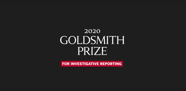 Announcing the 2020 Goldsmith Prize Winner