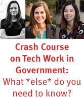 Crash Course on Tech Work in Government Briefing: Reflections & Resources