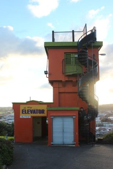 hilltop elevator